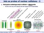 jets as probes of nuclear collisions 2