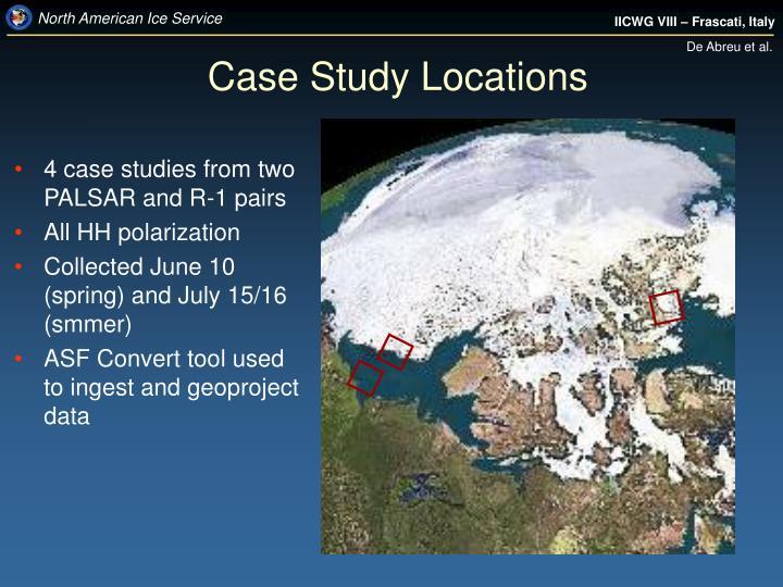 Case Study Locations