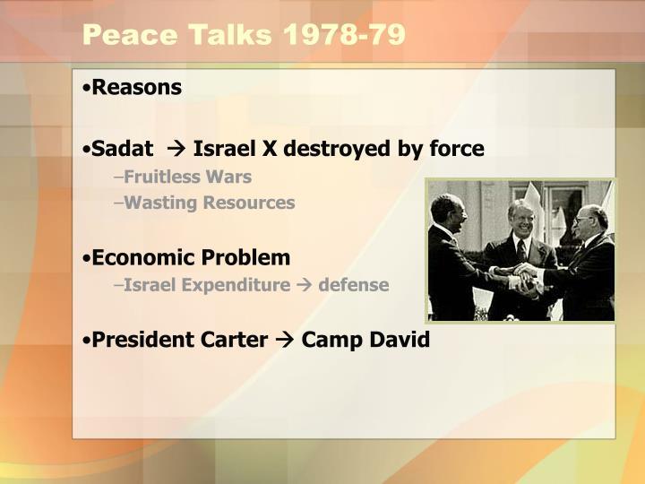Peace Talks 1978-79