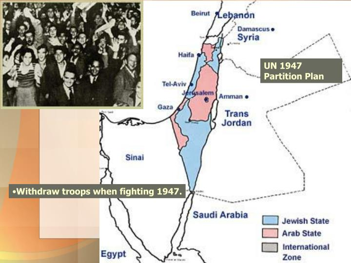 UN 1947 Partition Plan