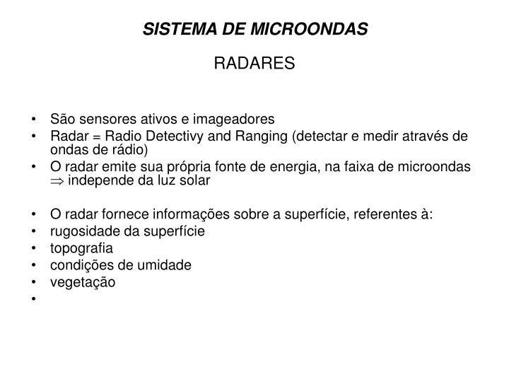 SISTEMA DE MICROONDAS