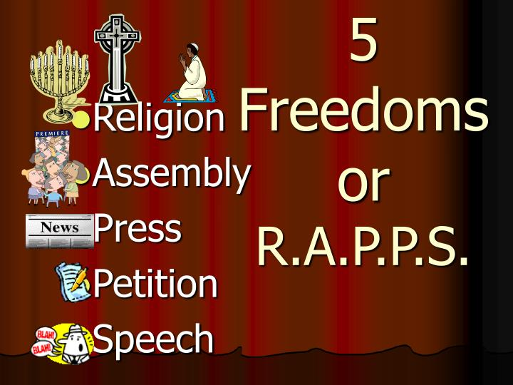 5 Freedoms or