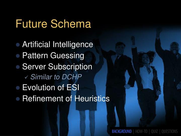 Future Schema