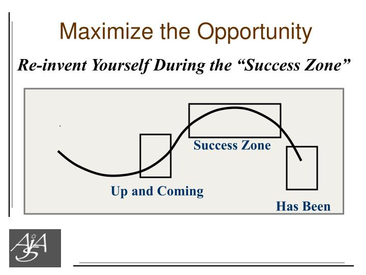 Maximize the Opportunity