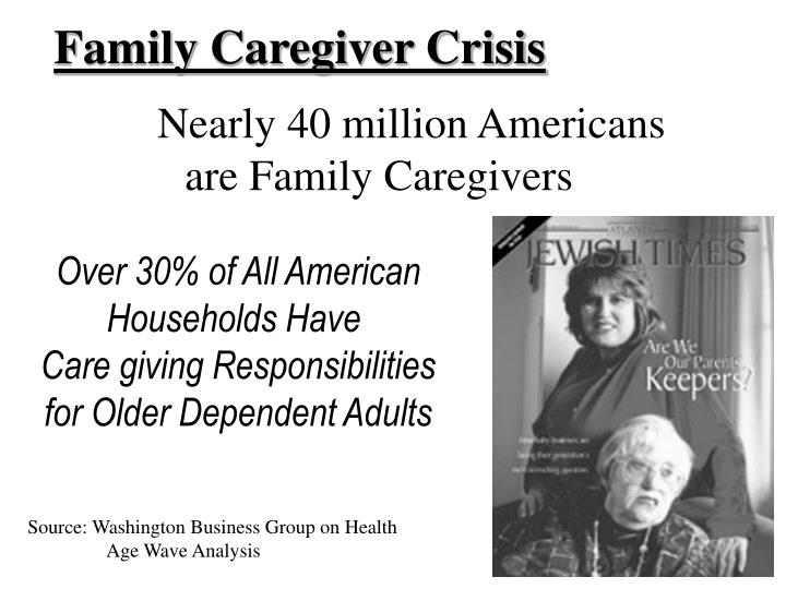 Family Caregiver Crisis