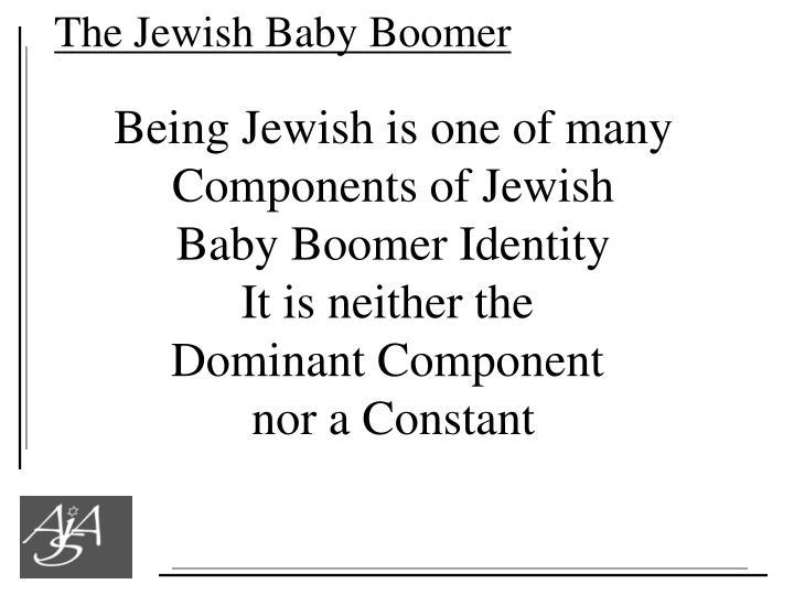 The Jewish Baby Boomer
