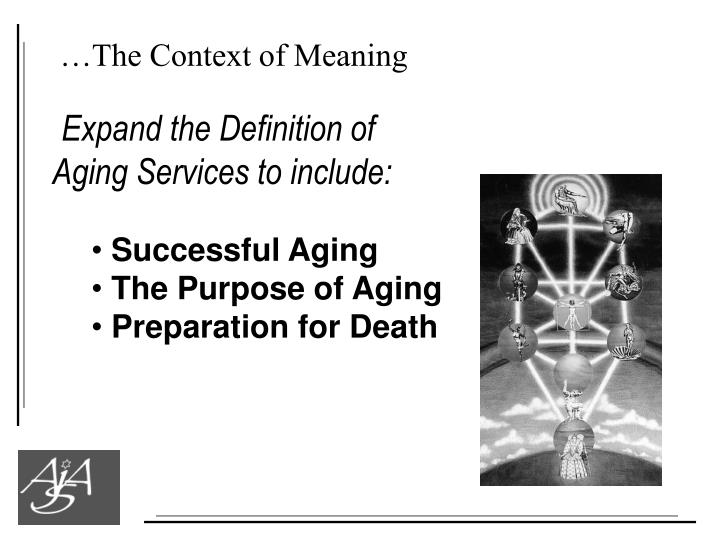 …The Context of Meaning
