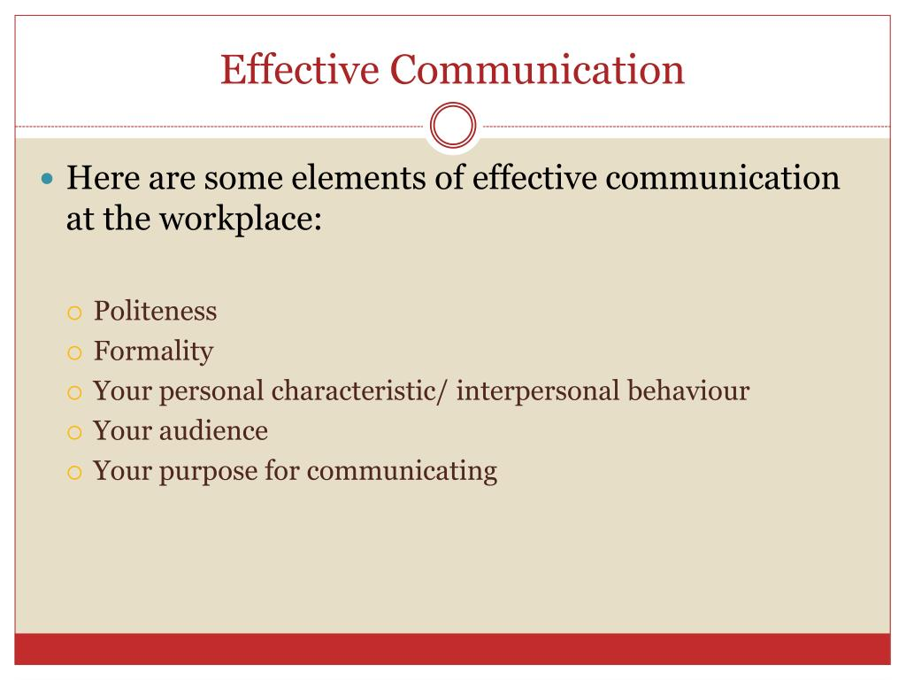 PPT - Effective Communication Greetings and Introductions Small talk