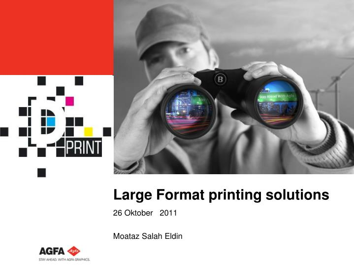 large format printing solutions n.