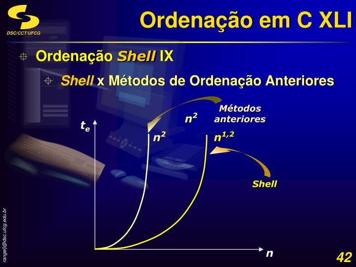 Ordenação em C XLI