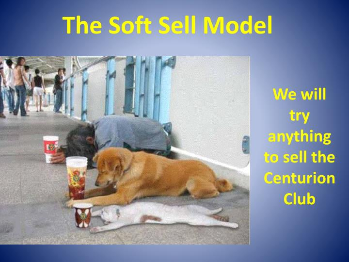 The Soft Sell Model