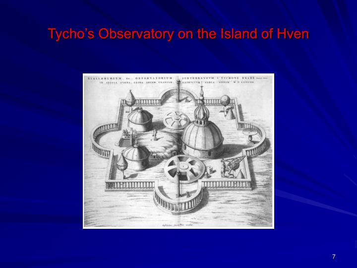 Tycho's Observatory on the Island of Hven