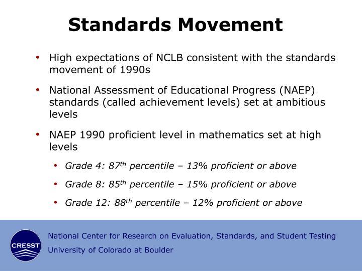 Standards Movement