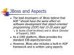 jboss and aspects