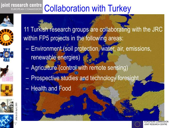 Collaboration with Turkey
