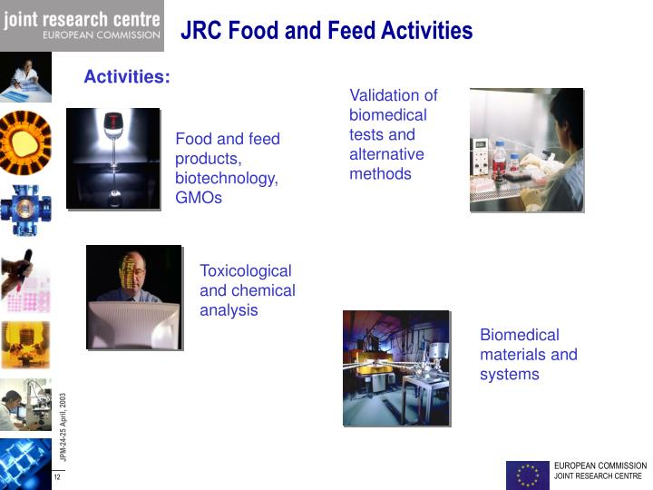 JRC Food and Feed Activities