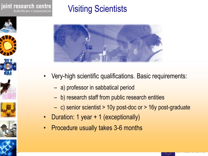 Visiting Scientists