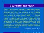 bounded rationality4