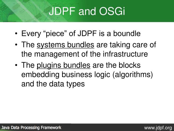 JDPF and OSGi