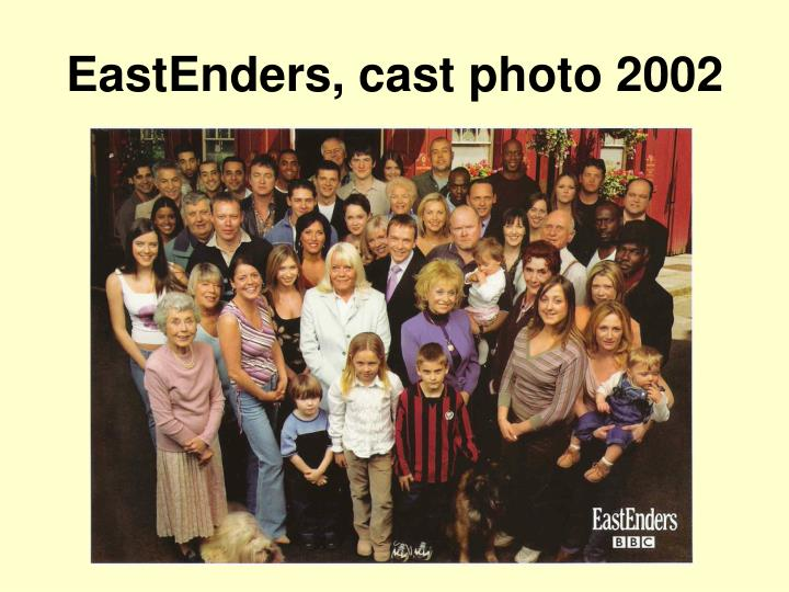 EastEnders, cast photo 2002