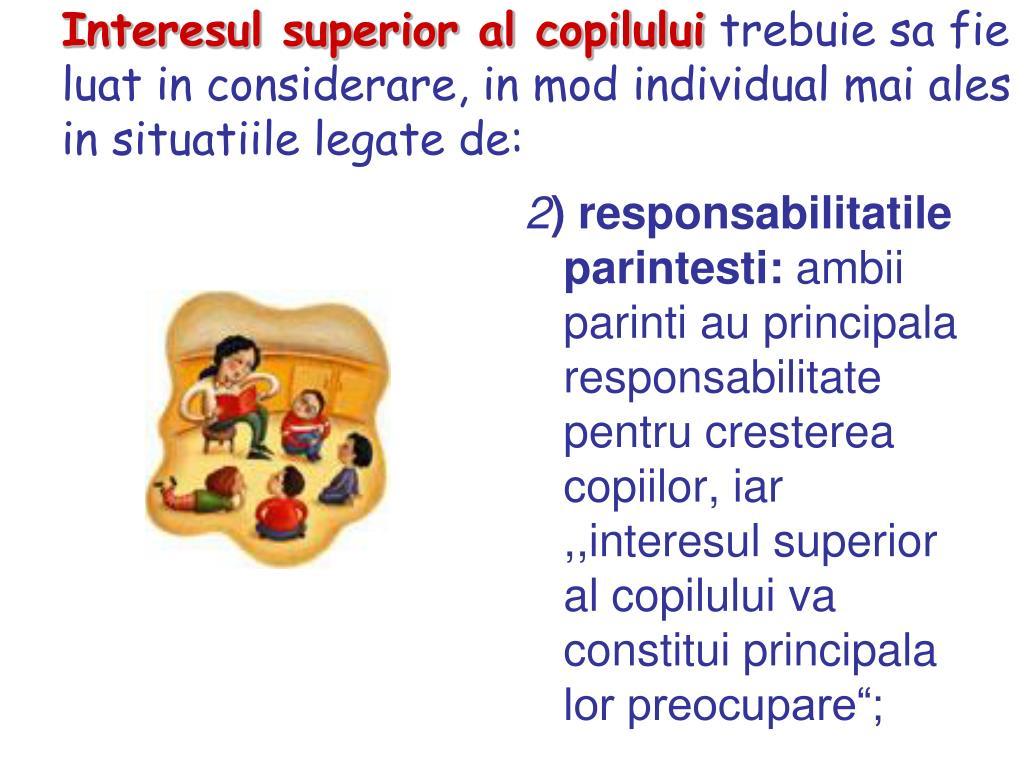 Responsabilitatile copilului in familie ppt