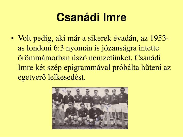Csanádi Imre