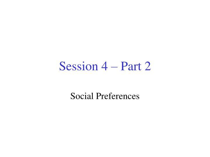 Session 4 – Part 2