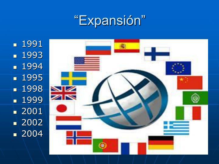 """""""Expansión"""""""