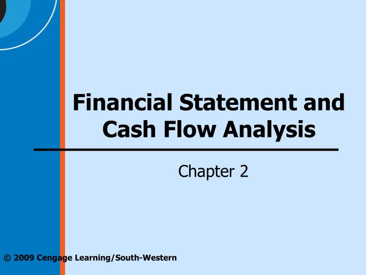 financial statement and cash flow analysis n.