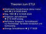 theorien zum etui