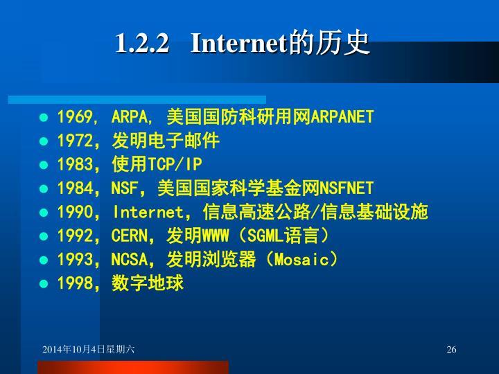 1.2.2   Internet