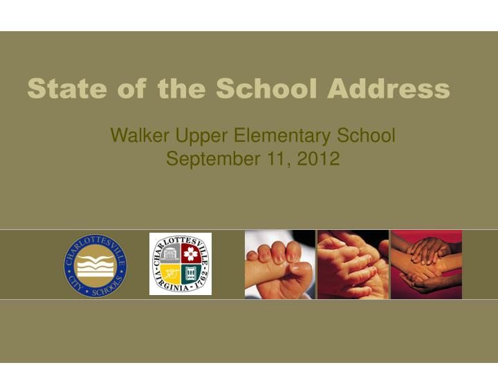 state of the school address n.