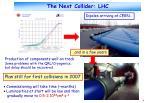 the next collider lhc