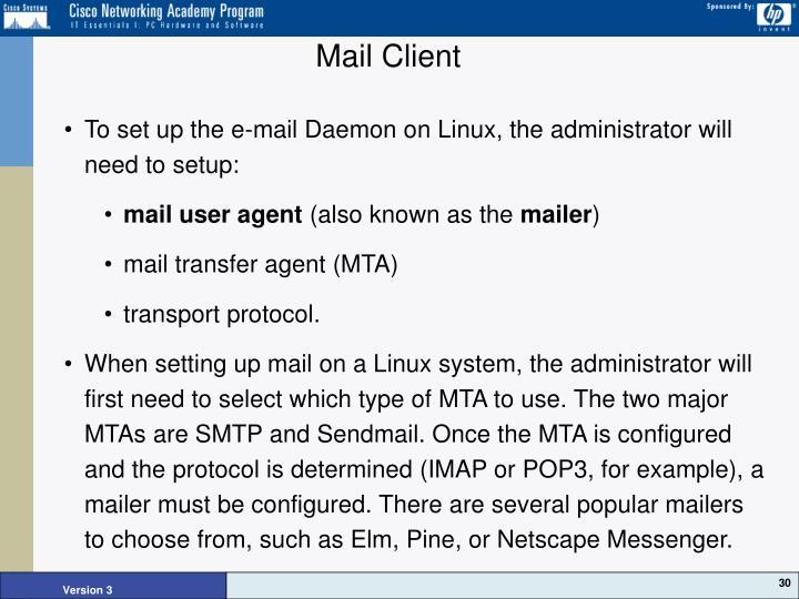 Mail Client