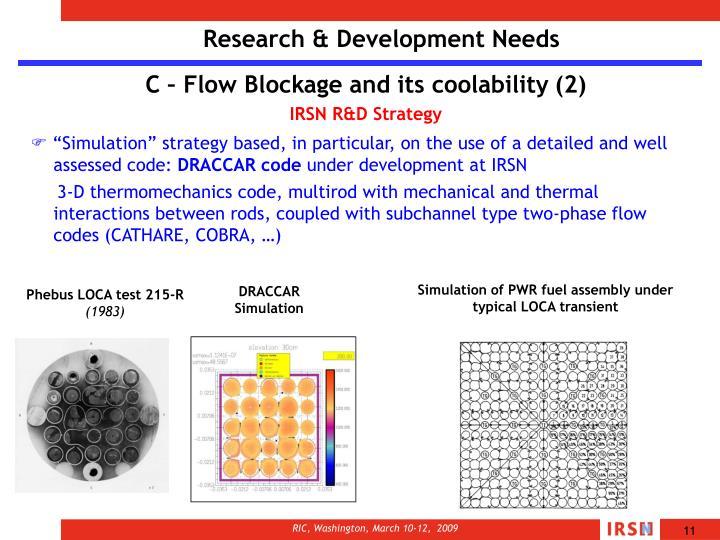 Research & Development Needs