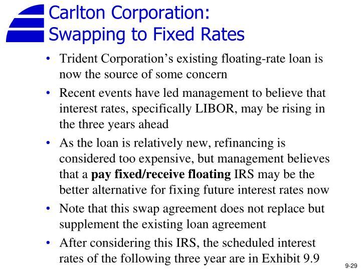 Carlton Corporation: