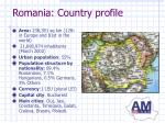 romania country profile1
