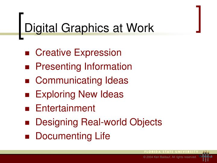 Digital Graphics at Work