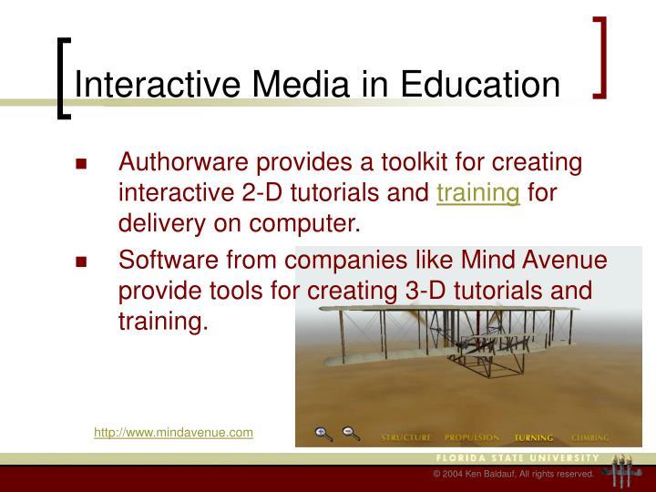 Interactive Media in Education