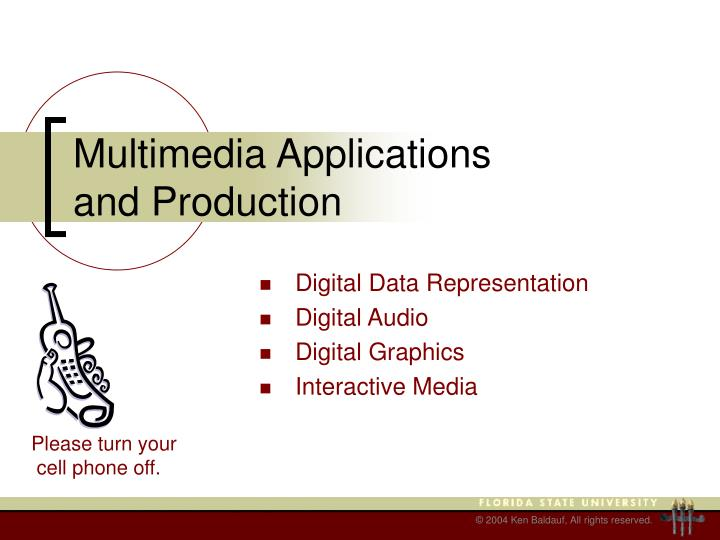 multimedia applications and production n.