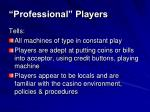 professional players2