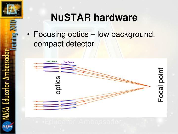 NuSTAR hardware