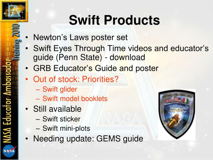 Swift Products