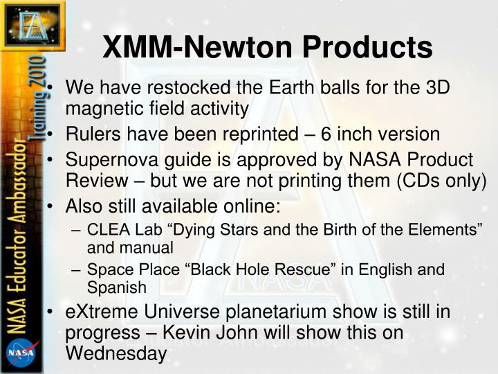 XMM-Newton Products