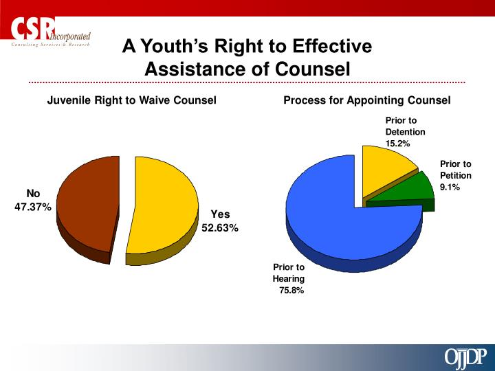 A Youth's Right to Effective