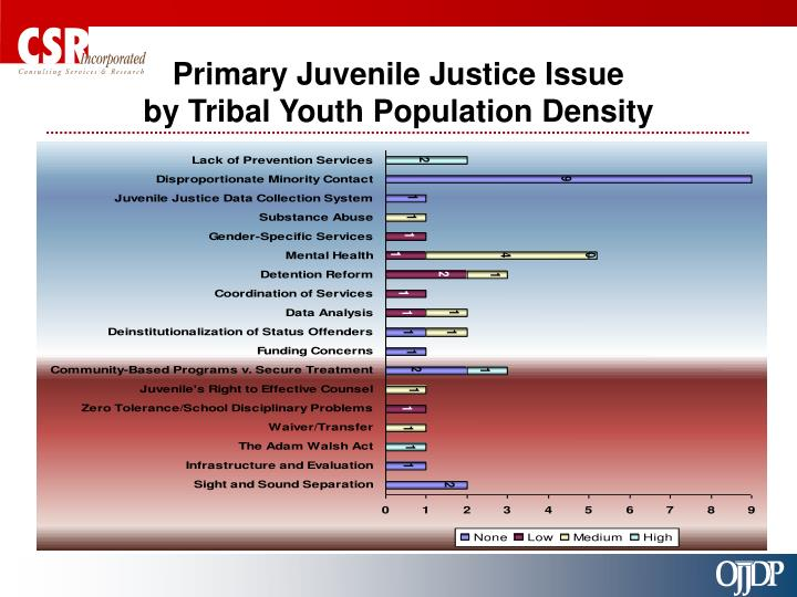 Primary Juvenile Justice Issue
