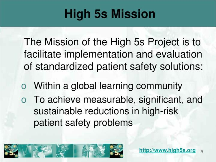 High 5s Mission