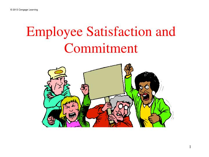 employee satisfaction and commitment n.
