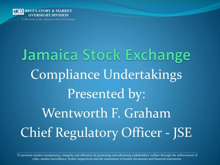 jamaica stock exchange n.