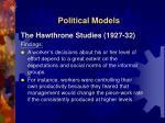 political models2